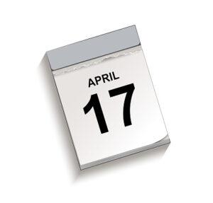 TICKETS ZATERDAG 17 APRIL